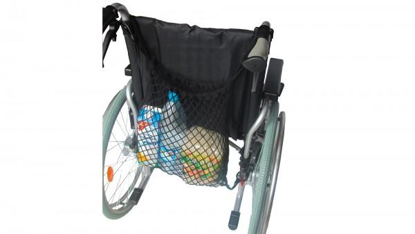 Einkaufsnetz für Rollstuhl, Rollator oder Gehgestelle
