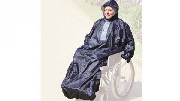 Hochwertiges Regencape für Rollstuhlfahrende