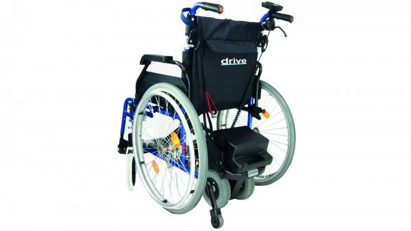 Powerstroll Schiebehilfe für Rollstühle, montiert